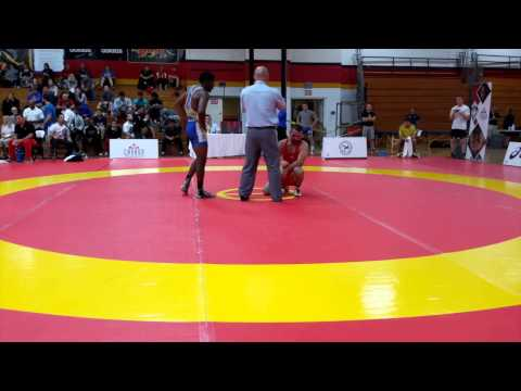 2015 Canada Cup: 65 kg Sahit Prizreni (AUS) vs. Dillon Williams (CAN)
