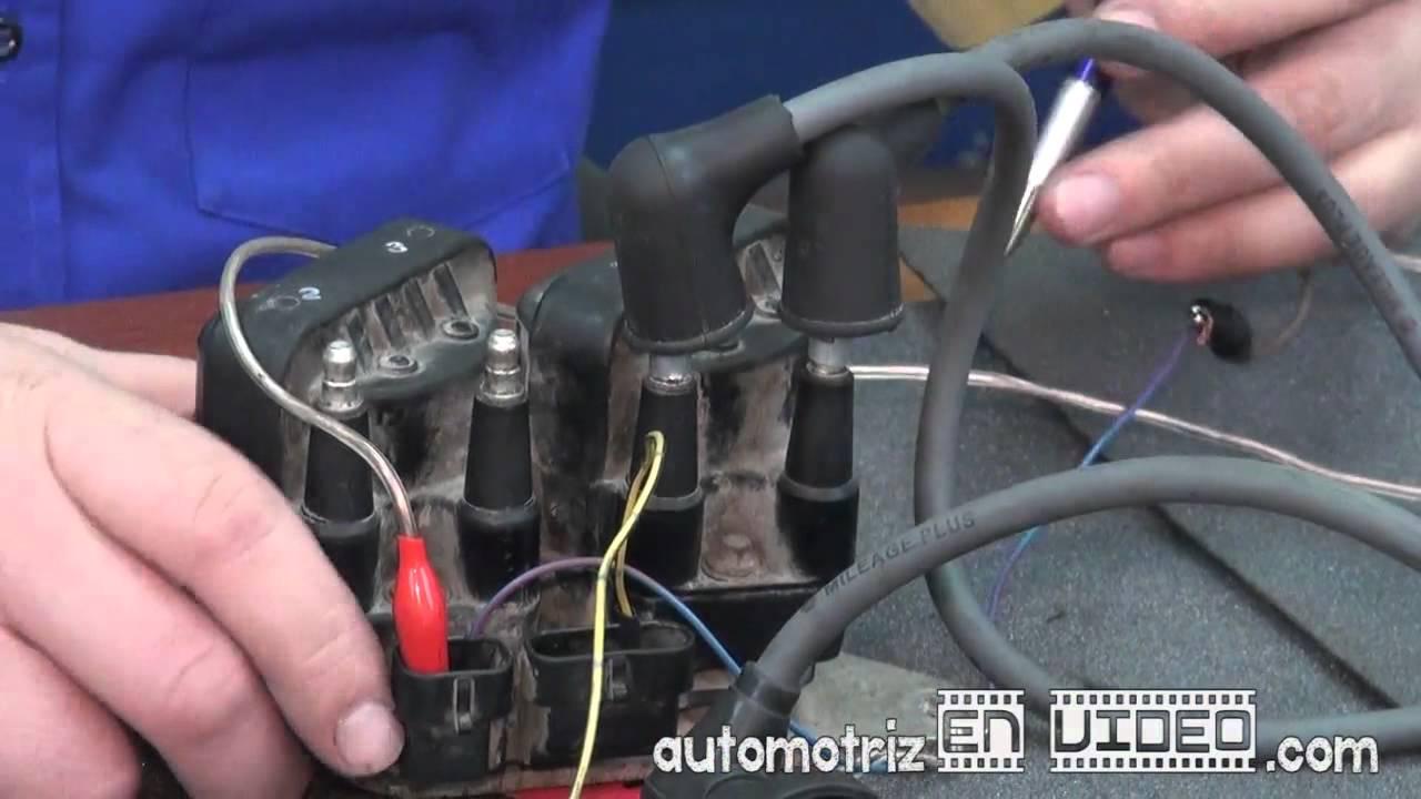 comprobacion de bobinas  transistor incorporado isuzu