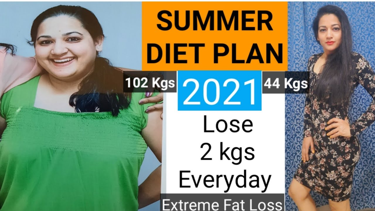 Summer Weight Loss Diet Plan | How To Lose Weight Fast | Lose 2 Kgs Everyday Diet Plan | By Gatello