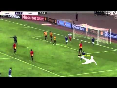 هدف جون انطوى ضد الترجى   اهداف مباراة الاهلي والترجي التونسي 1-0   تعليق عصام الشوالي 2015 HD