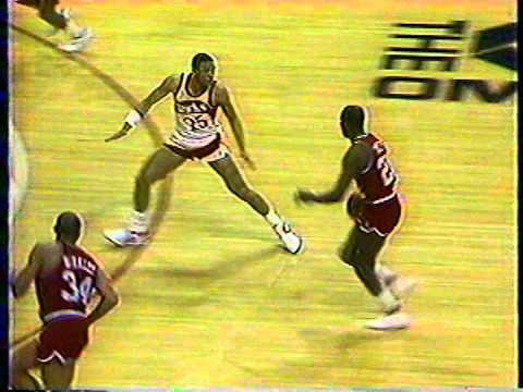 Philadelphia 76ers vs Atlanta Hawks, February 23, 1987
