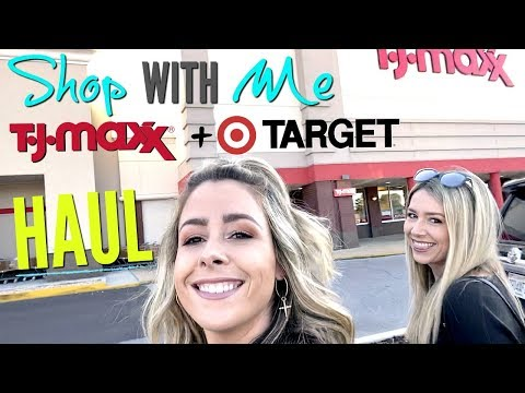 Shop With Me - TJ Maxx + Target  HAUL 2019