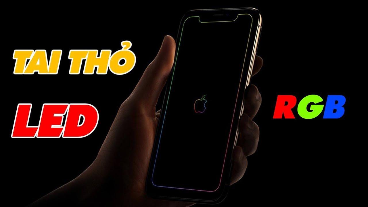 Làm Mọi iPhone Đều Có Tai Thỏ LED RGB Siêu Đẹp | Truesmart
