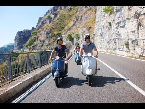 VESPA Road Trip Amalfi 2016 by SIP Scootershop