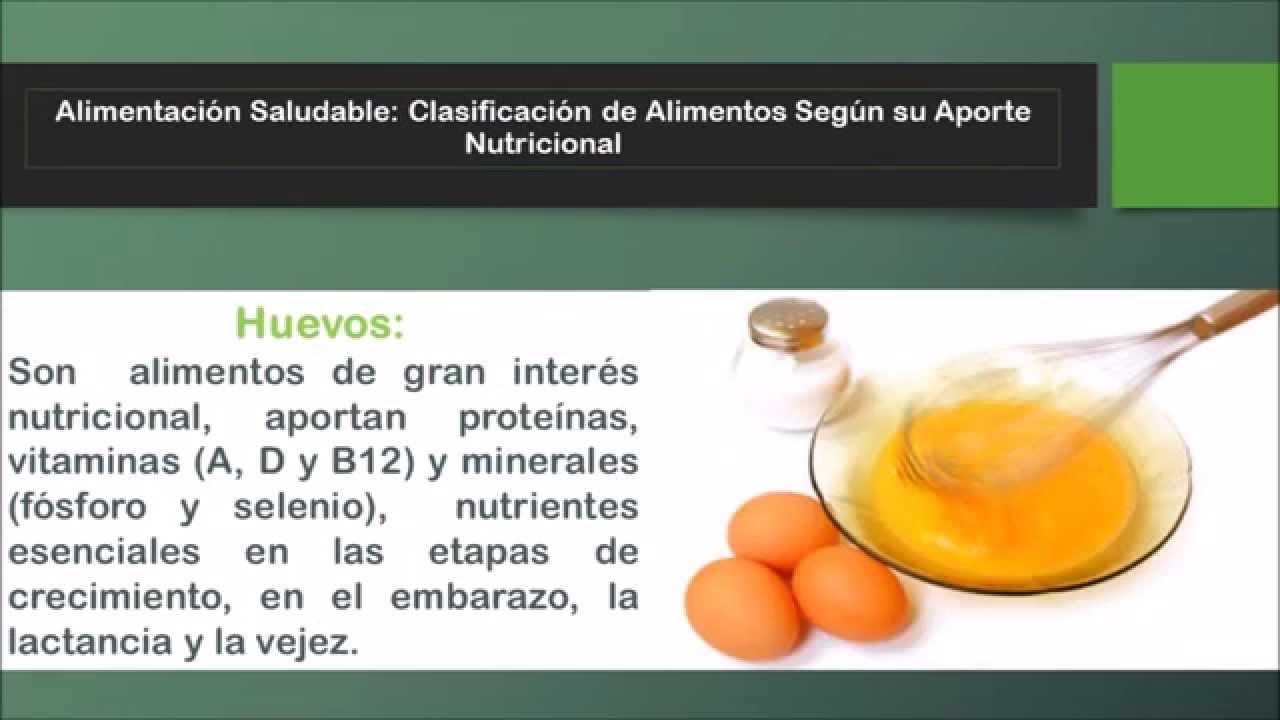 alimentaci n saludable clasificaci n de alimentos seg n