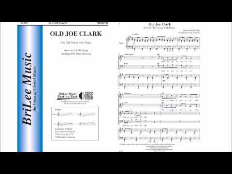 Old Joe Clark (BL979) Arr. by Dan Davison