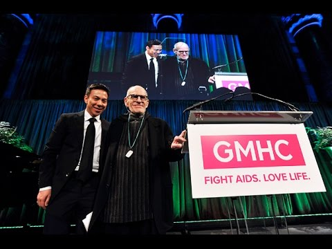 Larry Kramer accepts Lifetime Activism Award (with introductions by Joe Mantello and Mark Ruffallo)