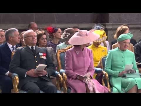 #Kungen70 | King Carl XVI Gustaf's Birthday - Te Deum.