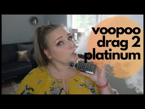 VooPoo Drag 2 - Platinum Edition! | Tia Reviews
