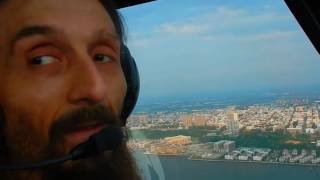 Video flight over the hudson river on Robinson R44 Raven II helicopter download MP3, 3GP, MP4, WEBM, AVI, FLV Mei 2018