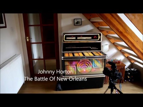 Johnny Horton The Battle Of New Orleans played on the Wurlitzer Atlanta