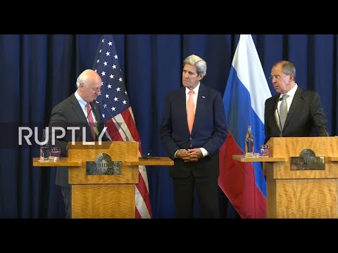 LIVE: Lavrov and Kerry to hold Syria talks in Geneva - Press conference