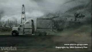 The Day The Earth Stood Still - Truck Destruction Sequence