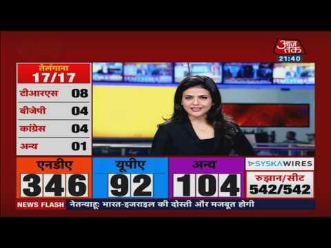 दूसरी बार PM बनेंगे नरेंद्र मोदी, भाजपा अकेले बहुमत पार! देखिए खबरदार Sweta Singh के साथ