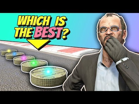 GTA 5 | Which PROXIMITY MINE is the BEST?