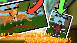 Roblox Beyond NRPG BETA | ALL NEW SUBJUSTU LOCATIONS/SPAWNS