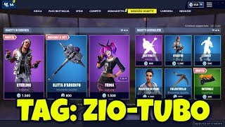 FORTNITE SHOP today May 2nd sterling new skin, pickaxe SLITTA D'ARGENTO and INFERNAL cover