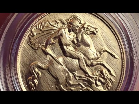 There is something badly wrong with this gold sovereign!!