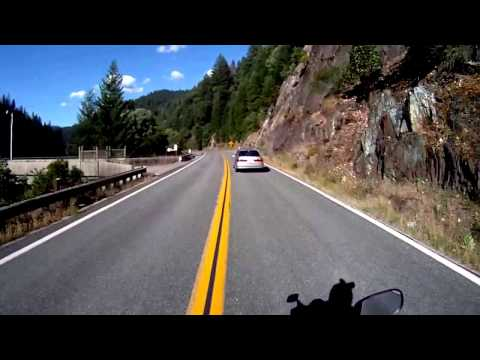 Awesome Motorcycle Ride up Brand New Tarmac on Highway 70 Through the Tunnels and the Hills