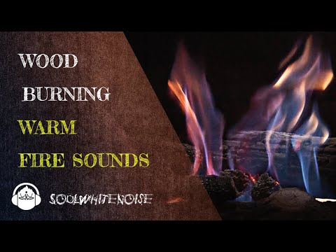 Burning Wood Fire Sounds To Help You Fall Asleep Easier
