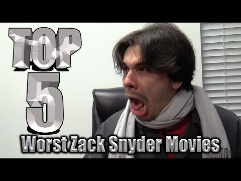 Top 5 Worst Zack Snyder Movies