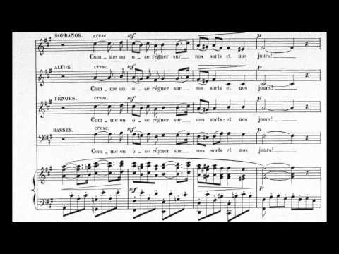 Faure  Pavane Op 50 Choral version