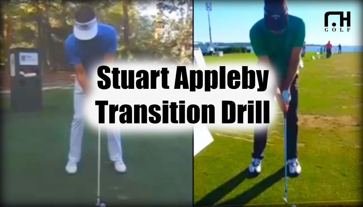 Stuart Appleby Swing Golf Transition Drill Youtube