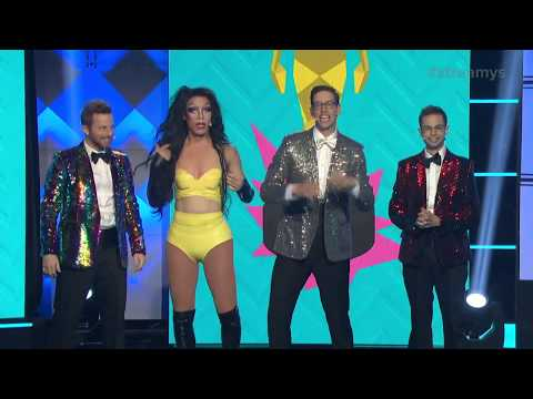 The Try Guys and Charo Opening - Streamys 2018 thumbnail
