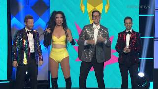 The Try Guys and Charo Opening - Streamys 2018