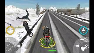 Bike Attack Race Highway Tricky Stunt Rider #3 Android Gameplay screenshot 5