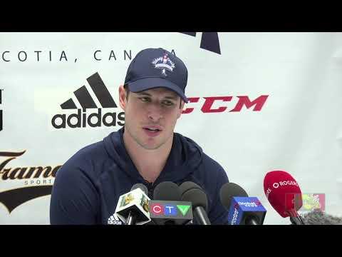 Sidney Crosby & Nathan MacKinnon discuss the Halifax Mooseheads