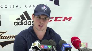 Sidney Crosby & Nathan MacKinnon discuss the Halifax Mooseheads