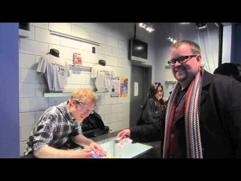 Meeting Anthony Rapp - Without You - Rent - Toronto