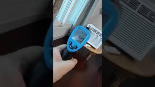 템피아 창문형 에어컨 HCW-S5200 소음 측정