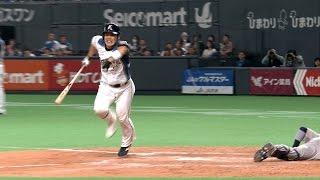 【プロ野球パ】「痛い、でも嬉しい」近藤がサヨナラデッドボール!  2015/04/24 F-Bs thumbnail