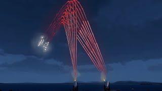 ArmA 3 U.S. C-RAM Compilation - Counter Rocket Artillery and Mortar System - Fighter Jets - CIWS