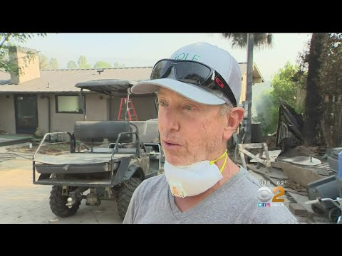 Crackdown On Looters As Woolsey Fire Sends LA, Ventura County Residents Fleeing
