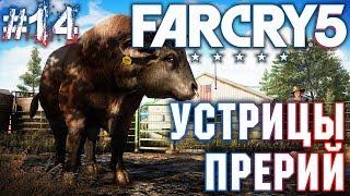 Far Cry 5 #14 💣 - Устрицы Прерий - BullBall - Прохождение, Сюжет, Открытый мир