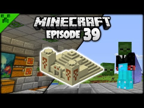 TEMPLE MANIA & Minecraft MOB HEADS! | Python's World (Minecraft Survival Let's Play) | Episode 39