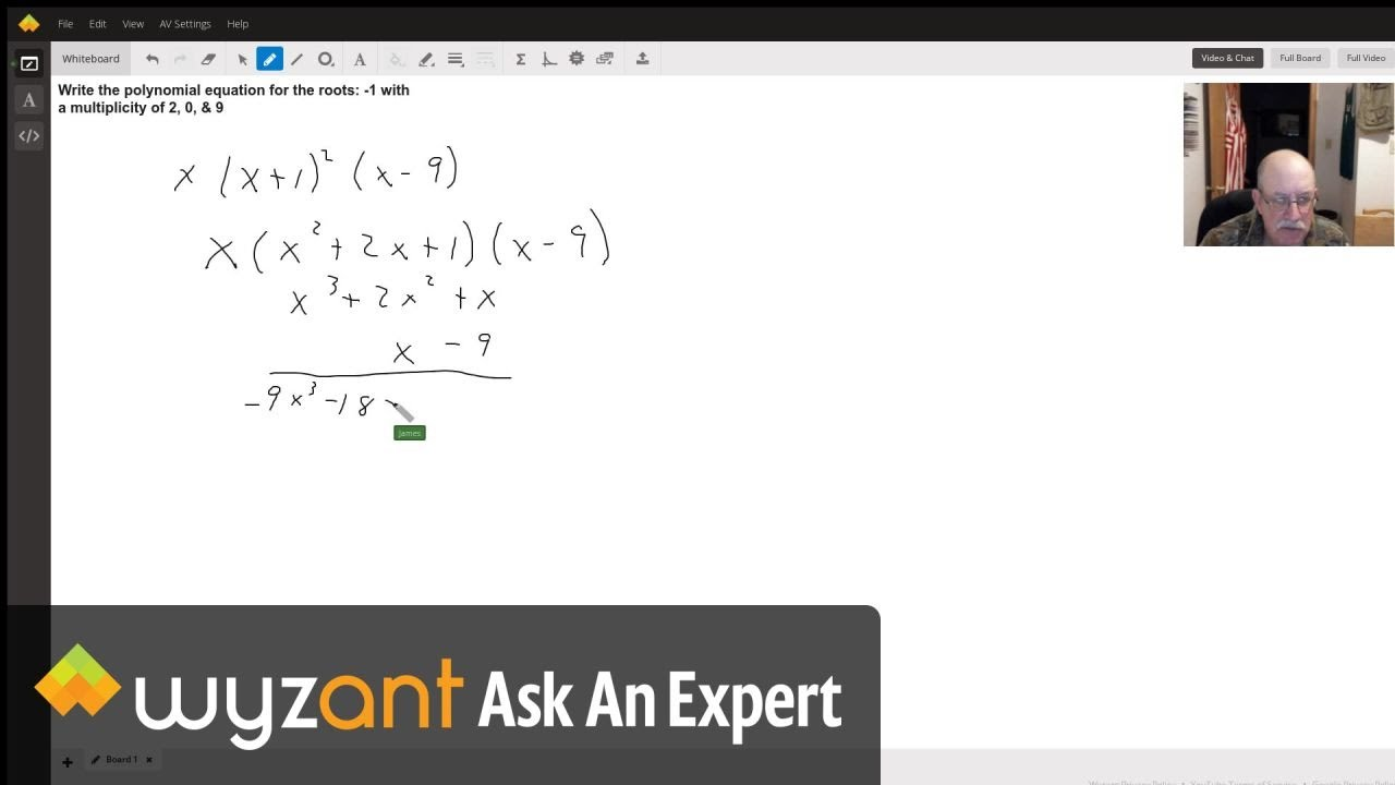writing a polynomial equation  youtube