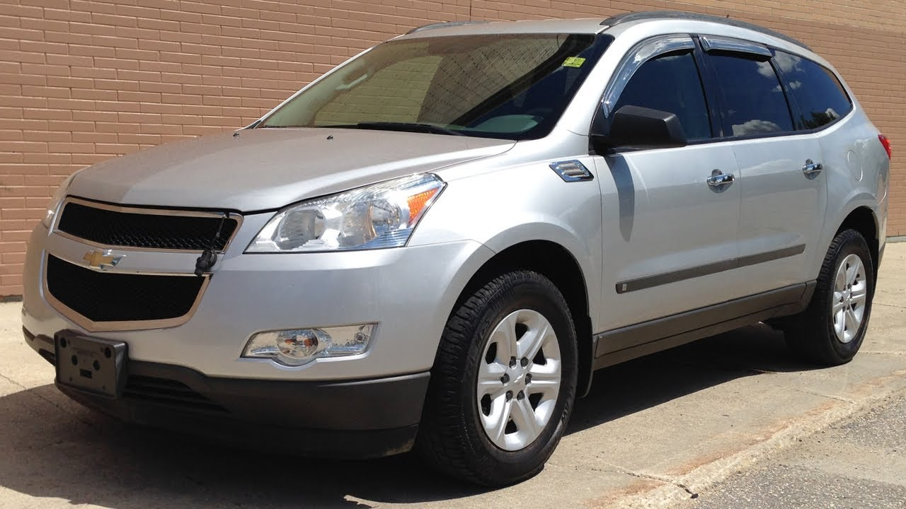 Used Chevy Traverse >> Used Chevy Traverse 2009 Chevrolet Traverse Ls Winnipeg Mb Youtube