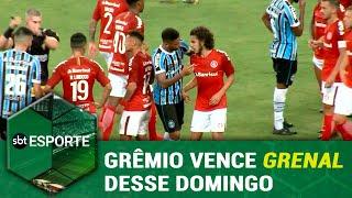 SBT Esporte - 18/03/19 - programa completo - Grêmio vence GreNal desse domingo