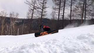 【Aiko Ozaki】 snowboarding movie18-19