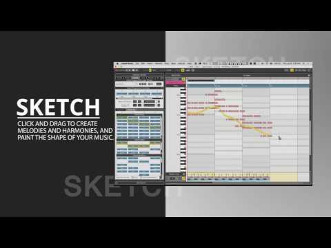 Liquid Music: MIDI Melody and Chord Designer