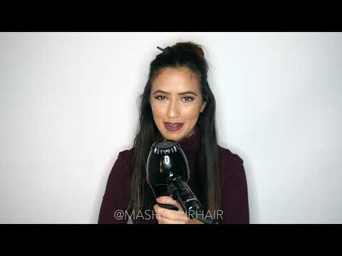 How to Blowdry Your Hair Using a  Round Brush