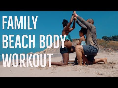 Family Beach Body Workout! | OZ Farm Part 2