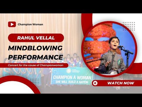 Aikya 2018 part 2 -Sid Sriram and child prodigy Rahul Vellal - Fundraising Carnatic music in Chennai