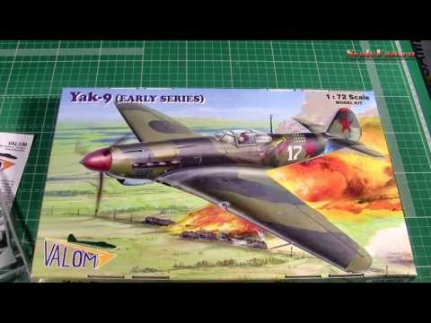 Valom Yak-9 (early series) 1:72