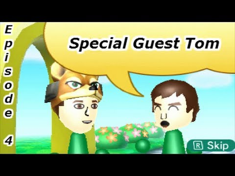 how to meet a special mii on streetpass plaza