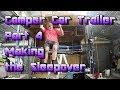 Making a Camper Car Trailer out of a Caravan - Part 4